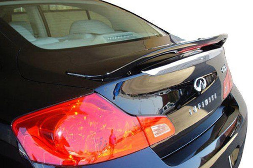 Infiniti G35/G37 Sedan 2007-2014 Factory Post Lighted Rear Trunk Spoiler