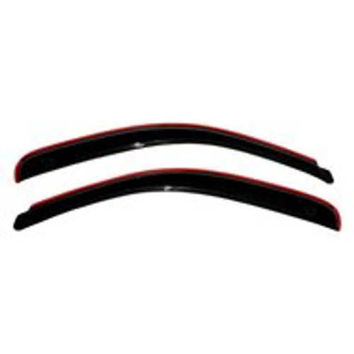 AVS 192006 In-Channel Ventvisor Smoked Rain Guards for Chevy Astro 1985-2005