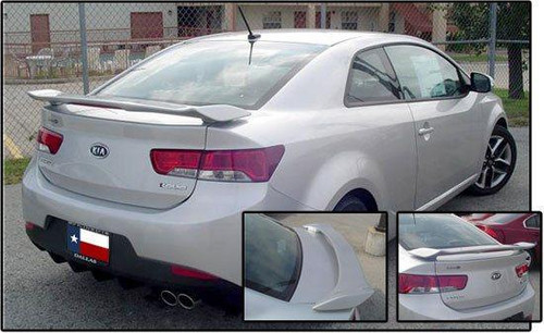 Kia Forte Koup 2010-2013 Custom Post Lighted Rear Trunk Spoiler