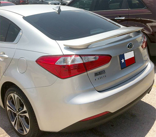Kia Forte Sedan 2014-2016 Custom Post Lighted Rear Trunk Spoiler