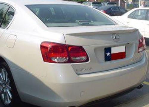 Lexus GS 2006-2012 Factory Lip No LightRear Trunk Spoiler