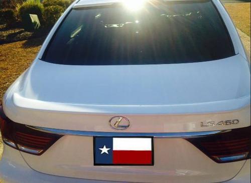 Lexus LS460 2013-2017 Custom Lip No Light Rear Trunk Spoiler