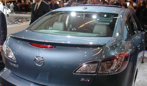 Mazda 3 Sedan 2010-2013 Factory Lip No Light Rear Trunk Spoiler