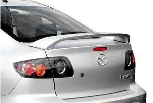 Mazda 3 Sedan 2004-2009 Factory Post No Light Rear Trunk Spoiler