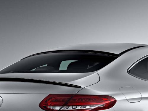 Mercedes C Class Coupe 2017-2018 Factory Window No Light Spoiler
