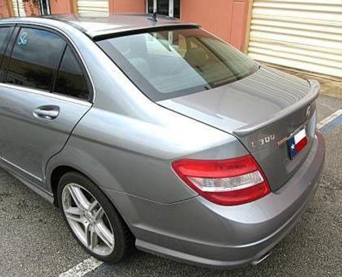 Mercedes C Class Sedan 2008-2014 Factory Window Spoiler