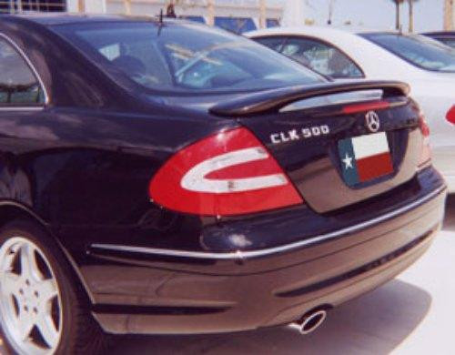 Mercedes CLK 2002 Factory Post No Light Rear Trunk Spoiler