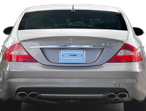 Mercedes CLS 2006-2011 Factory Lip No Light Rear Trunk Spoiler
