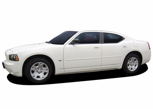 FE-CHARGER | Painted Body Side Door Moldings for Dodge Charger 2006-2010