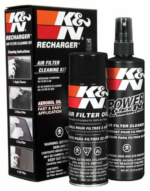 99-5000 | K&N Recharger Air Filter Cleaner and Oil Spray