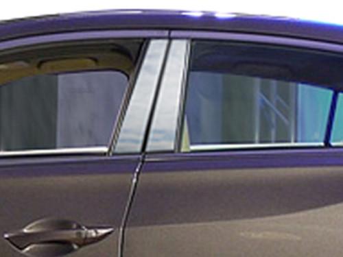 Stainless Steel Chrome Pillar Trim 4Pc for 2013-2020 Acura ILX PP13205