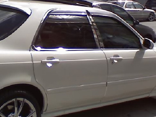 Stainless Steel Chrome Pillar Trim 6Pc for 1991-1995 Acura Legend PP91296