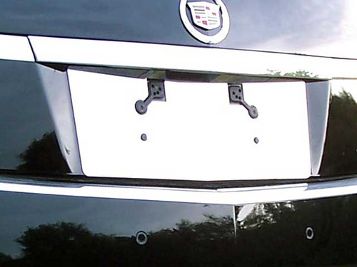 Stainless Steel Chrome License Plate Bezel 1Pc for 2011-2013 Cadillac CTS LP51251