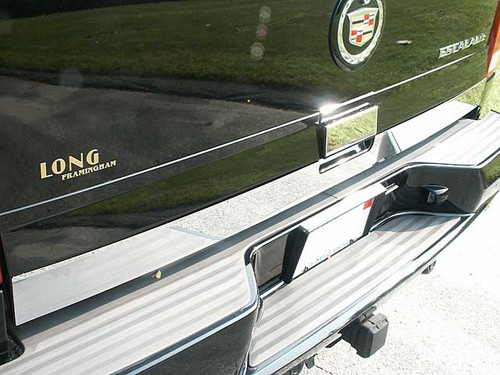 Stainless Steel Chrome Tailgate Trim 2Pc for 2002-2006 Cadillac Escalade RT42255