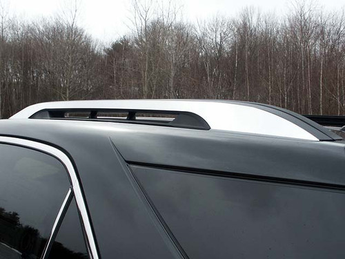 Stainless Steel Chrome Roof Rack Accent 2Pc for 2010-2017 Chevy Equinox RR50160