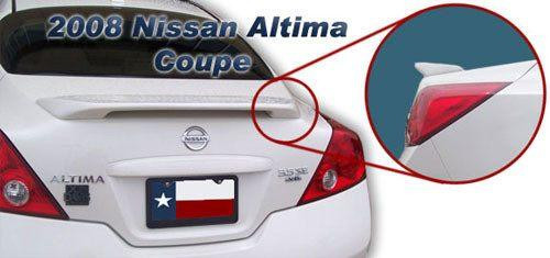 Nissan Altima Coupe 2008-2012 Custom Post No Light Rear Trunk Spoiler