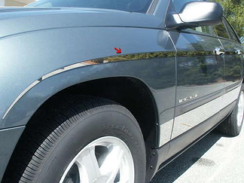 Stainless Steel Chrome Rocker Panel Trim 12Pc for 2004-2008 Chrysler Pacifica TH44752