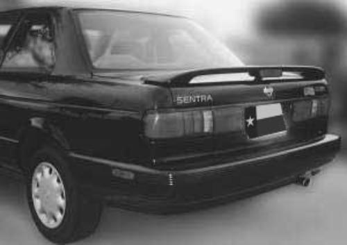 Nissan Sentra 1991-1994 Factory Post Lighted Rear Trunk Spoiler
