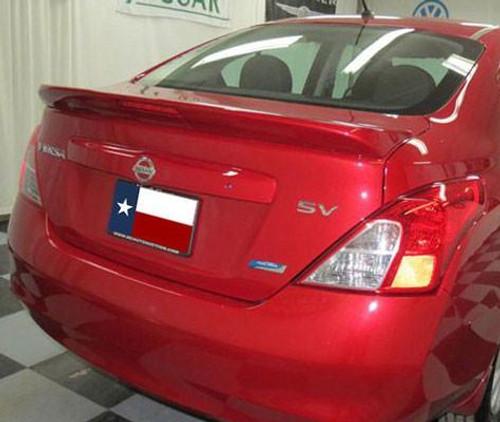 Nissan Versa Sedan 2013-2017 Factory Flush Lighted Rear Trunk Spoiler