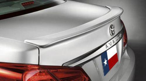 Toyota Avalon 2011-2012 Factory Lip No Light Rear Trunk Spoiler