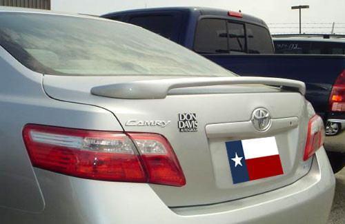 Toyota Camry 2007-2011 Custom Post No Light Rear Trunk Spoiler