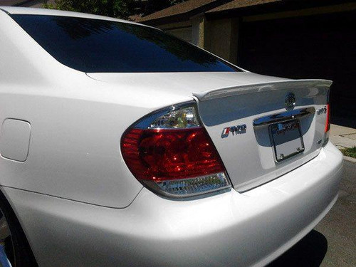 Toyota Camry 2002-2006 Factory Lip No Light Rear Trunk Spoiler