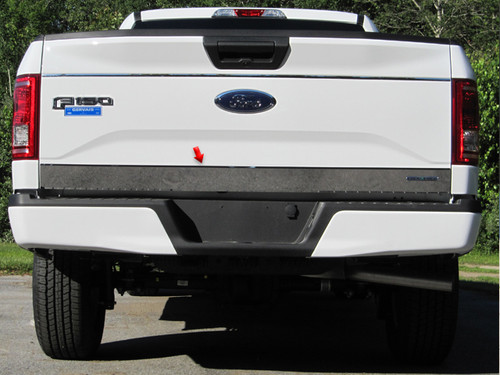 Stainless Steel Chrome Tailgate Accent 1Pc for 2015-2017 Ford F-150 RT55308