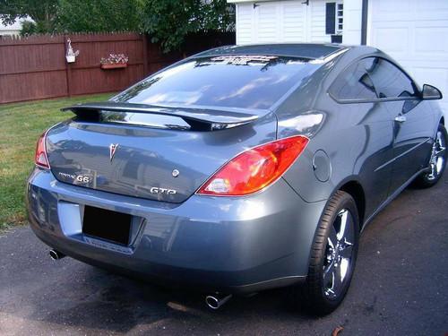 Pontiac G6 Coupe 2005-2010 Custom Post No Light Rear Trunk Spoiler