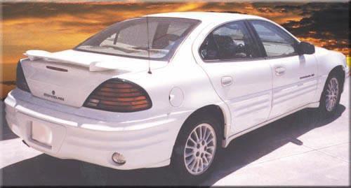 Pontiac Grand Am 1999-2005 Factory Post No Light Rear Trunk Spoiler