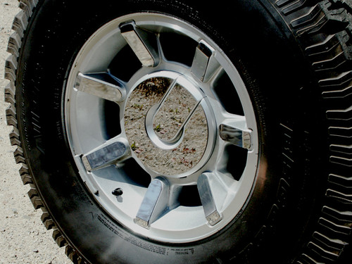 Stainless Steel Chrome Wheel Skin Accent 36Pc for 2003-2009 Hummer H2 HV43019