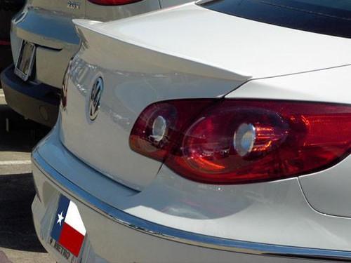 Volkswagen CC 2009-2014 Custom Lip No Light Rear Trunk Spoiler