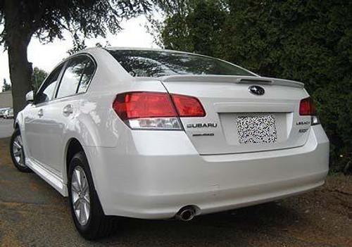 Subaru Legacy 2010-2014 Factory Flush CLR Light Rear Trunk Spoiler