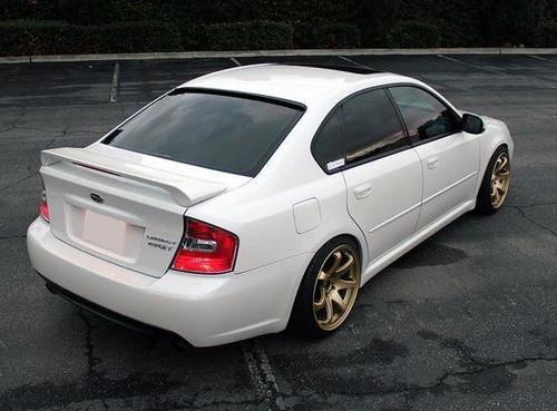 Subaru Legacy 2005-2009 Factory Post Lighted Rear Trunk Spoiler