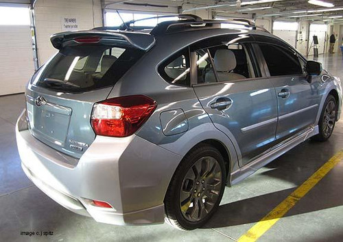 Subaru XV Crosstrek 2012-2017 Factory Roof No Light Spoiler