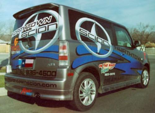 Scion XB 2004-2007 Factory Roof No Light Spoiler