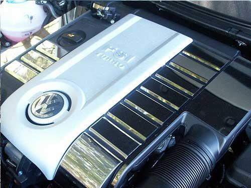 Stainless Steel Chrome Engine Trim 13Pc for 2006-2010 Volkswagen Passat EP26675