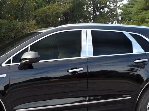 Stainless Steel Chrome Pillar Trim 10Pc for 2017-2020 Cadillac XT5 PP57262