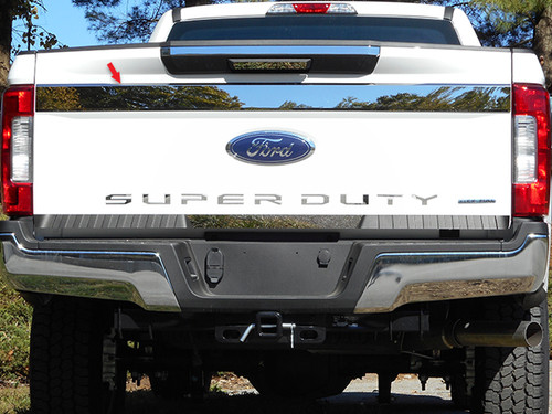 Stainless Steel Chrome Tailgate Accent 1Pc for 2017-2019 Ford Super Duty TP57320