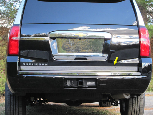 Stainless Steel Chrome Tailgate Accent 1Pc for 2015-2020 GMC Yukon RT55195