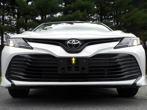 Stainless Steel Chrome Grille Accent 1Pc for 2018-2020 Toyota Camry SG18130