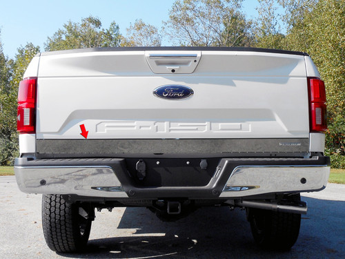 Stainless Steel Chrome Tailgate Accent 1Pc for 2018-2020 Ford F-150 RT58308
