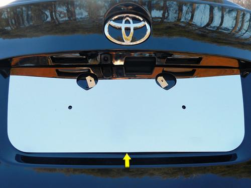 Stainless Steel Chrome License Plate Bezel 1Pc for 2018-2020 Toyota C-HR LP18140