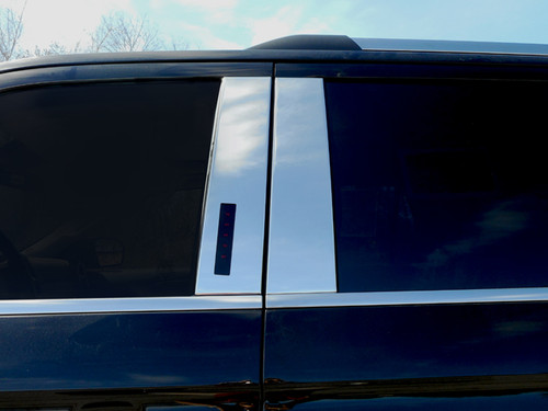 Stainless Steel Chrome Pillar Trim 4Pc for 2018-2020 Ford Expedition PP58383