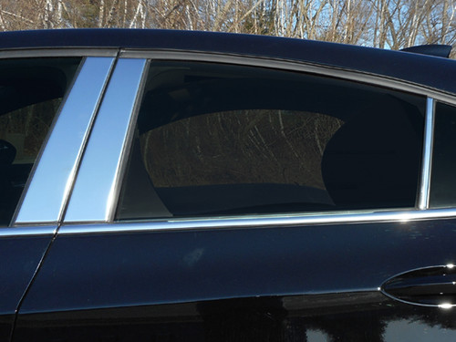 STAINLESS STEEL CHROME PILLARS FOR CHEVY CRUZE 2016-2019 6PC