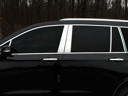 Stainless Steel Chrome Pillar Trim 12Pc for 2020-2021 Cadillac XT6 PP60214