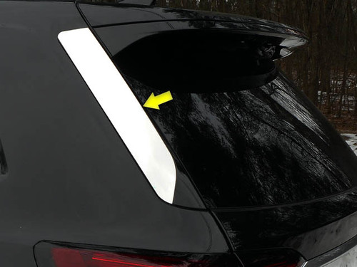 Stainless Steel Chrome Rear Window Set 2Pc for 2020 Cadillac XT6 RW60210