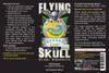 Flying Skull Spread Coat 250ml Bottle Label
