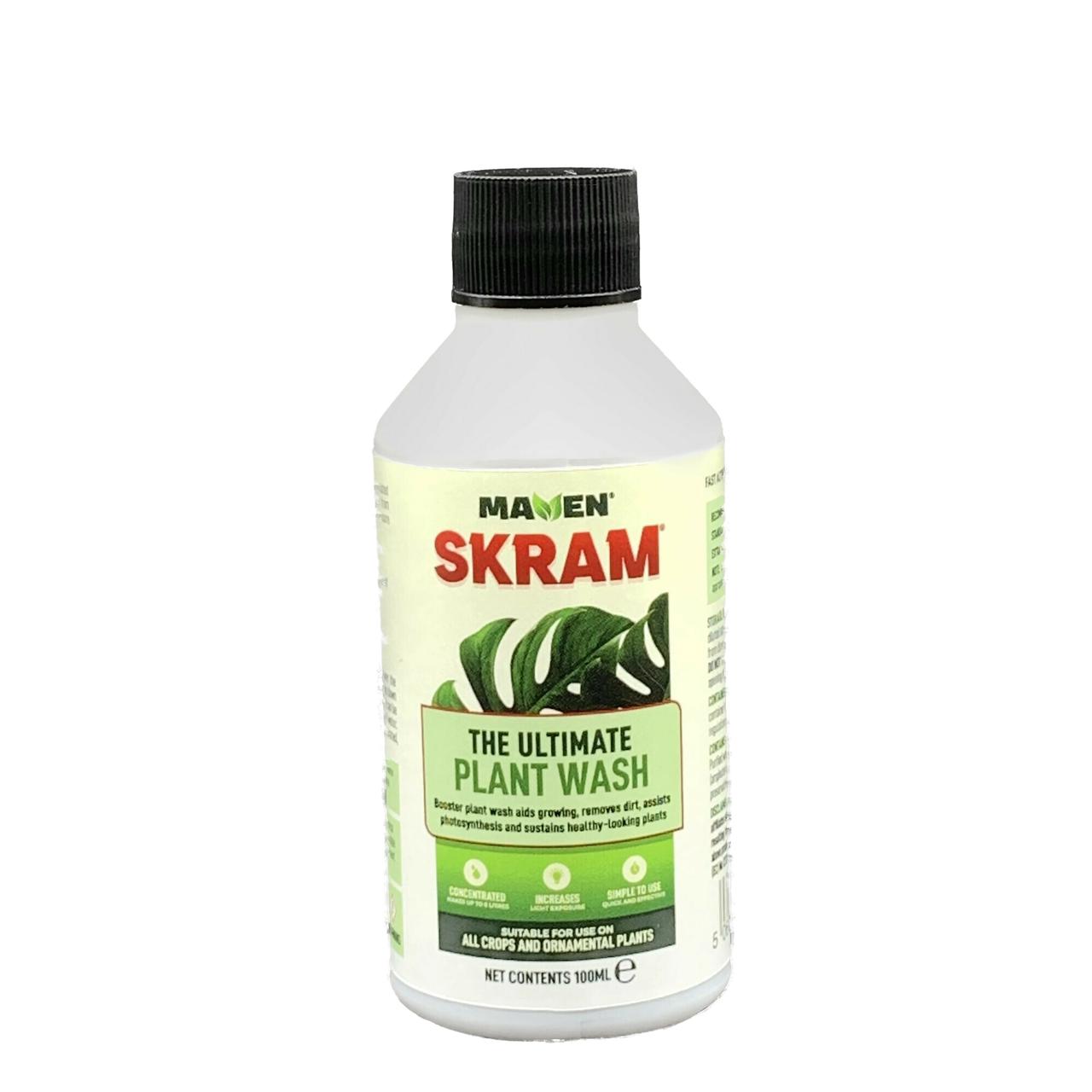 SKRAM Ultimate Plant Wash 100ml bottle
