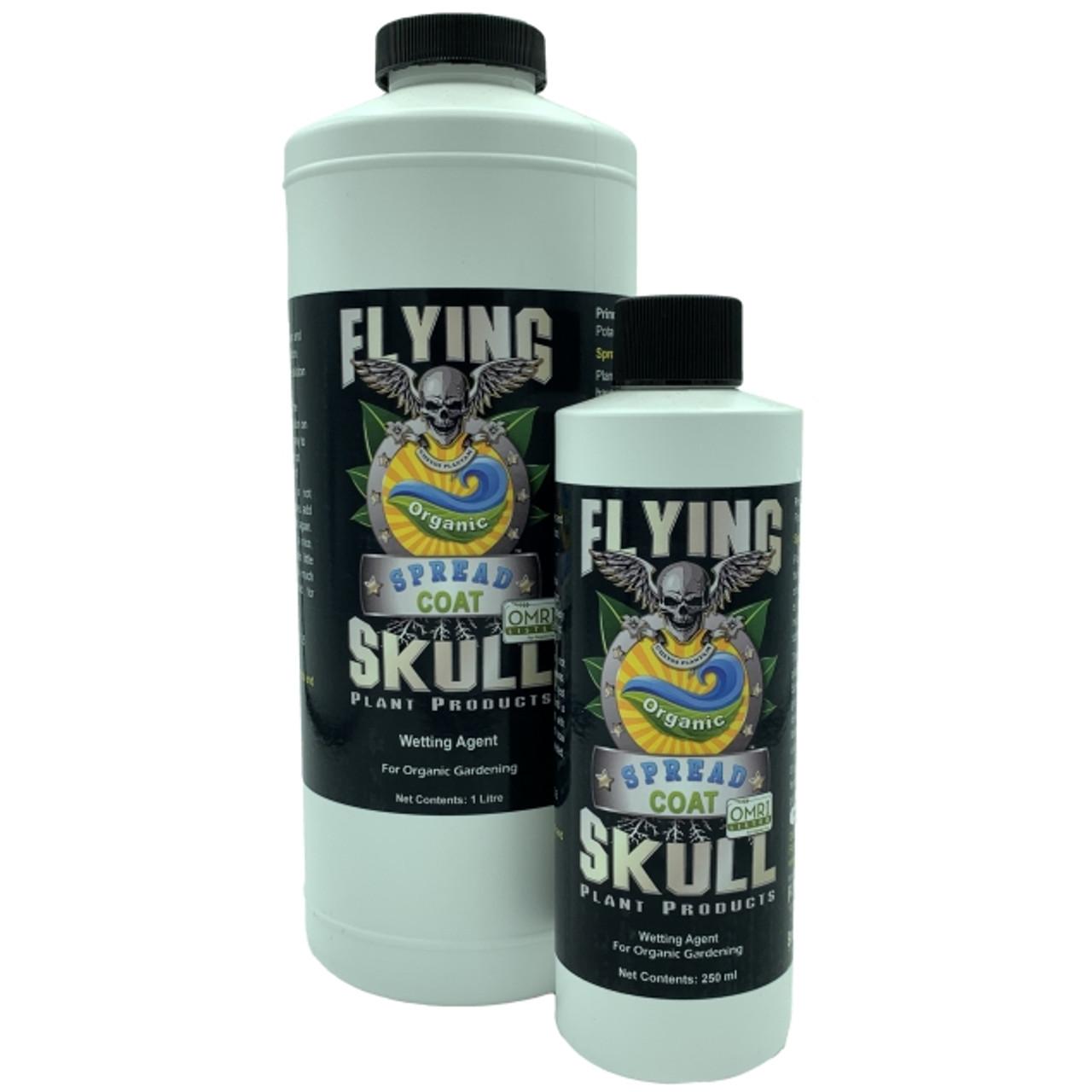 Flying Skull Spread Coat 250ml and 1 litre Bottles