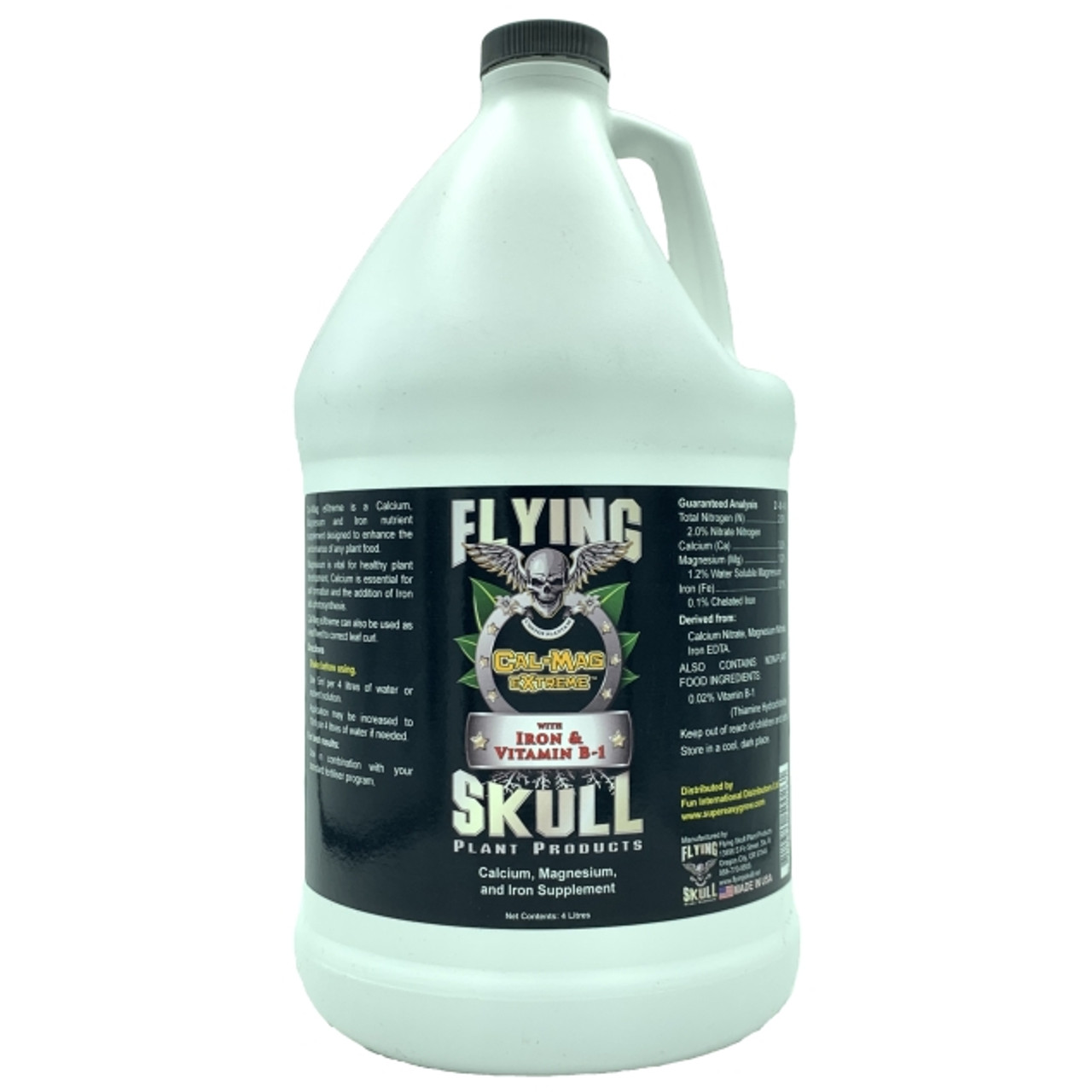 Flying Skull Cal-Mag eXtreme 4 litre Bottle